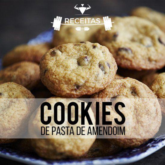 Cookies de pasta de amendoim