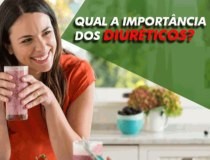 Qual a importância dos diuréticos?