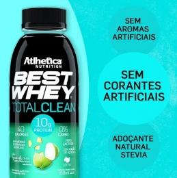 BEST WHEY TOTAL CLEAN - ÁGUA DE COCO COM ABACAXI (350ml)-