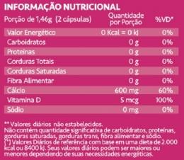 Calcium Maxx - Maxinutri - Tabela Nutricional