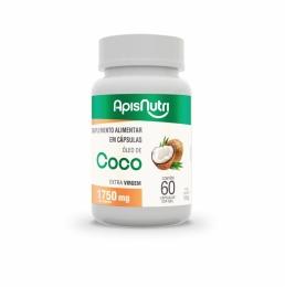 Óleo De Coco Extra Virgem 60 Caps 1750Mg